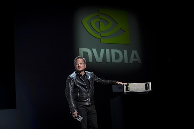 Nvidia CEO Jensen Huang says his company is working to get more graphics cards on the market and into gamers' hands as cryptominers empty stocks and drive up prices.