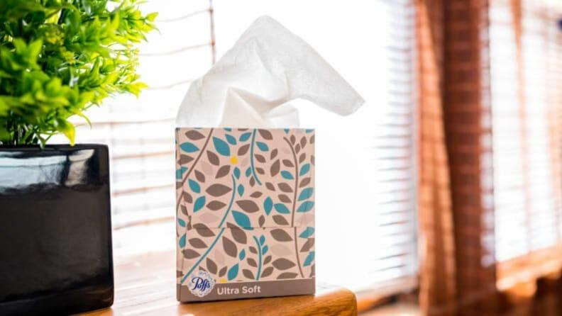 Never underestimate the value of a good tissue.