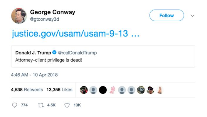 George Conway Twitter