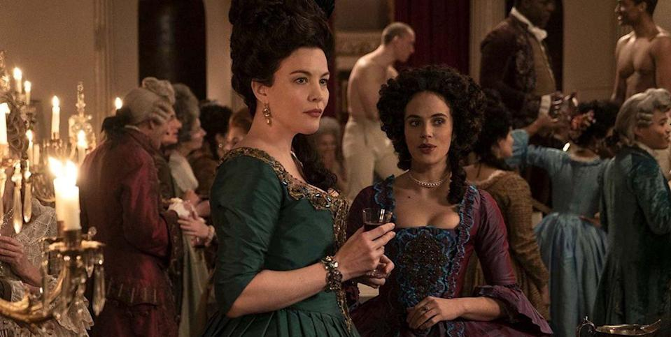 "<p>What did it take to be a financially independent woman in the 18th century? Watch <em>Harlots</em>, a show that explores the options available to women in the past, to find out. This witty show centers on a group of madams and sex workers, who find—in their work, catering to wealthy clients—a kind of freedom. </p><p><a class=""link rapid-noclick-resp"" href=""https://go.redirectingat.com?id=74968X1596630&url=https%3A%2F%2Fwww.hulu.com%2Fseries%2Fharlots-18edbd1f-3e9f-46a0-8dc4-02ff7b1eef63%3Fcmp%3D7735%26gclsrc%3Daw.ds%26ds_rl%3D1251123%26gclid%3DCjwKCAjwyo36BRAXEiwA24CwGbuBRyhfZYqiX87auQalbM8l1XrJttcMBNe5vLwK_fappiV1y170uBoCAokQAvD_BwE&sref=https%3A%2F%2Fwww.redbookmag.com%2Flife%2Fg35089329%2Fbest-period-dramas%2F"" rel=""nofollow noopener"" target=""_blank"" data-ylk=""slk:Watch Now"">Watch Now</a></p>"