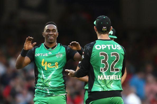 Csk's Bravo played for the former Kings XI captain Maxwell led Melbourne Stars team