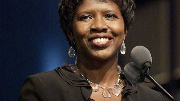 PHOTO: Gwen Ifill during the 25th Annual NATAS News and Documentary Emmys Sept. 13, 2004, in New York. (Marc Bryan-brown/WireImage/Getty Images)
