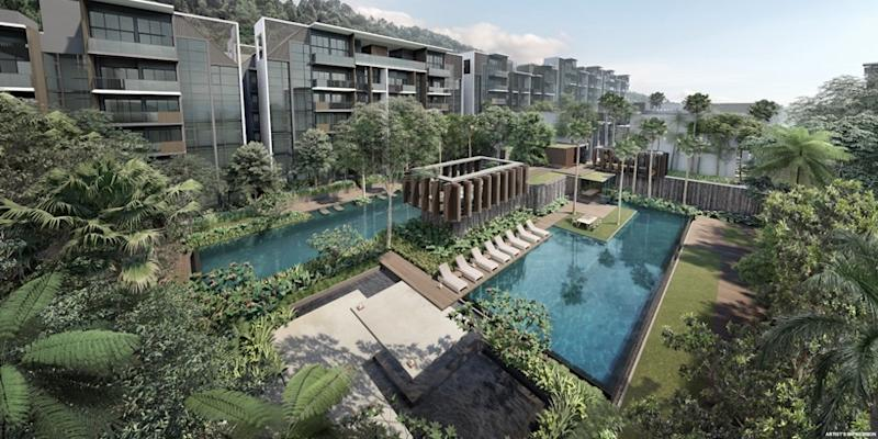 <p><img/></p>Kent Ridge Hill Residences, a 548-unit residential project at South Buona Vista Road, will open for preview this weekend (20 Oct)...