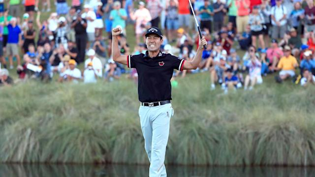 American Kevin Na won the Shriners Hospitals for Children Open for a second time.