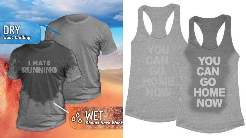 Best health and fitness gifts 2020: Sweat activated t-shirts