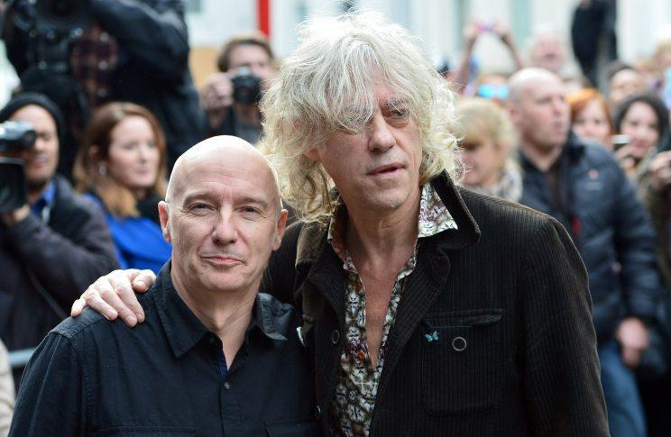 Midge Ure and Bob Geldof reunited for Band Aid in 2014 to raise money for the Ebola crisis (PA)