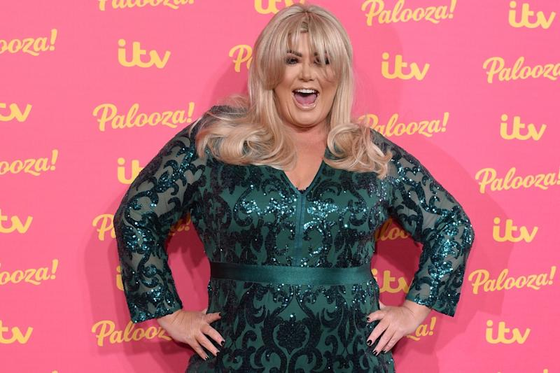 Gemma Collins attends the ITV Palooza 2019 at the Royal Festival Hall: Getty Images