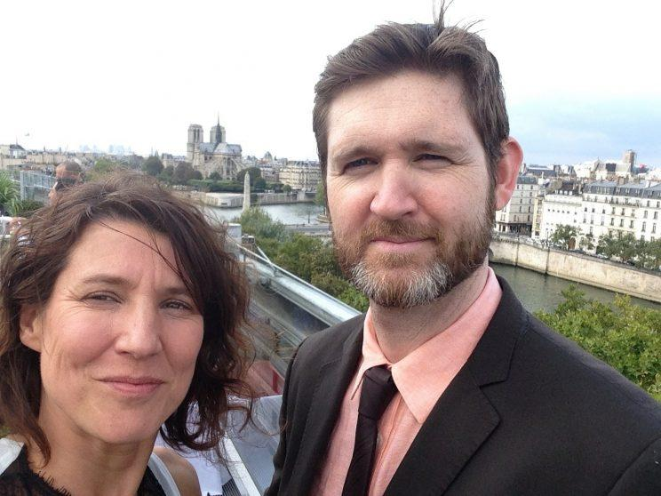 Marjorie and Peter Murphy moved back to Paris in 2015 after 9 years in Toronto. Supplied photo.