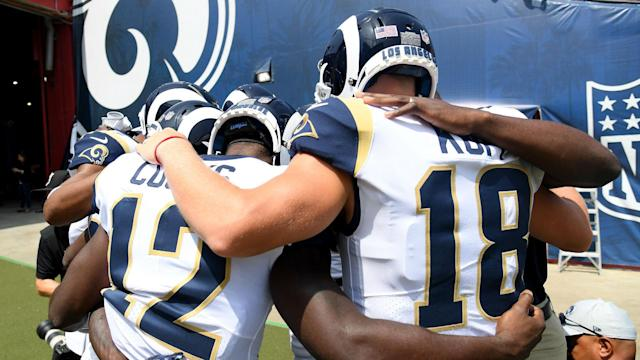 The Rams are ready for some end-zone hugs Sunday at Denver (AP)
