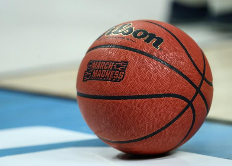 """The National Collegiate Athletic Association canceled the wildly popular US national men's basketball tournament, known colloquially as """"March Madness"""" (AFP Photo/Maddie Meyer)"""