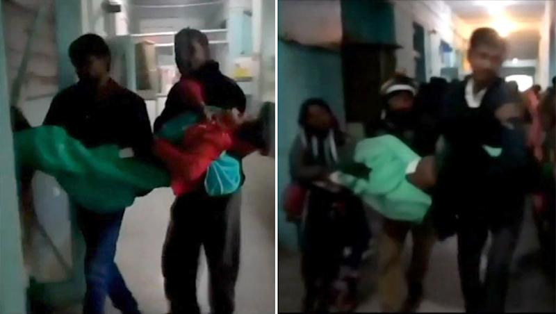 Medical Apathy in Madhya Pradesh: No Stretcher at Government Hospital, Women Carried in Arms by Family Members