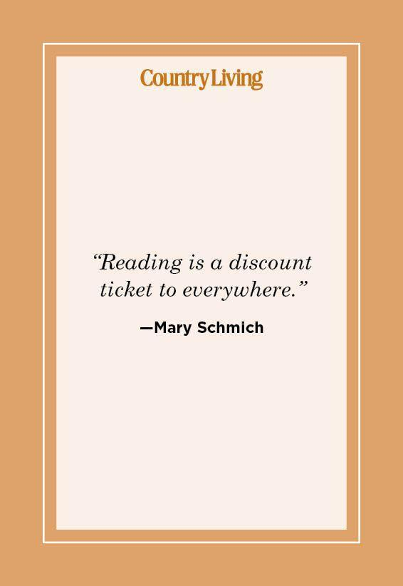 """<p>""""Reading is a discount ticket to everywhere."""" </p>"""