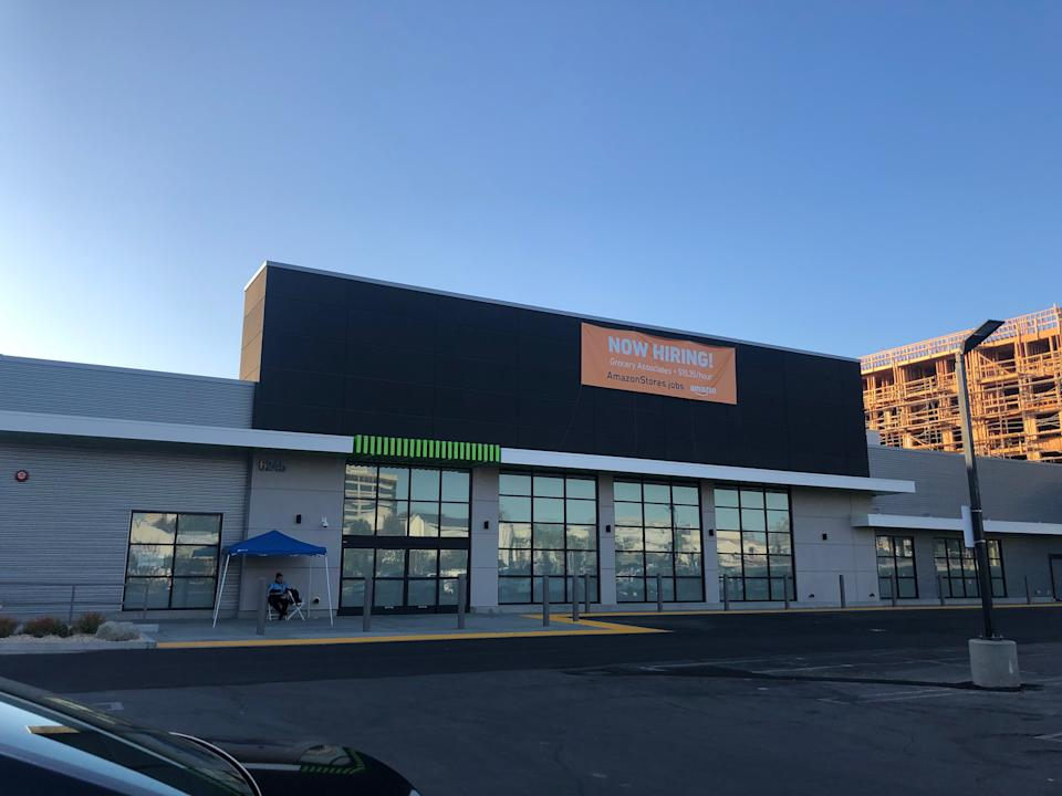 The brand new Amazon grocery concept will likely open in February 2020 (Source: Melody Hahm)