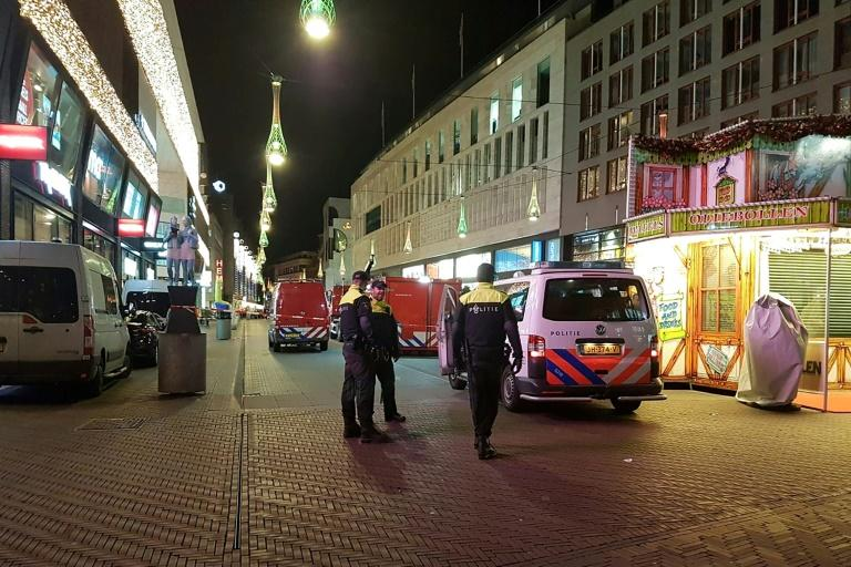 The attack took place in Grote Marktstraat, the city's biggest shopping area (AFP Photo/Sara MAGNIETTE)