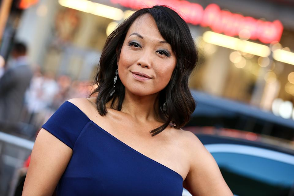 "Naoko Mori attends the LA Premiere of ""Everest"" held at the TCL Chinese Theatre IMAX on Wednesday, Sept. 9, 2015, in Los Angeles. (Photo by John Salangsang/Invision/AP)"