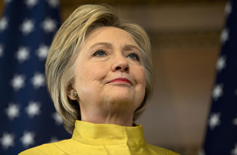 Democratic presidential candidate Hillary Clinton will attack presumptive GOP nominee Donald Trump on foreign policy (AP Photo/Carolyn Kaster)