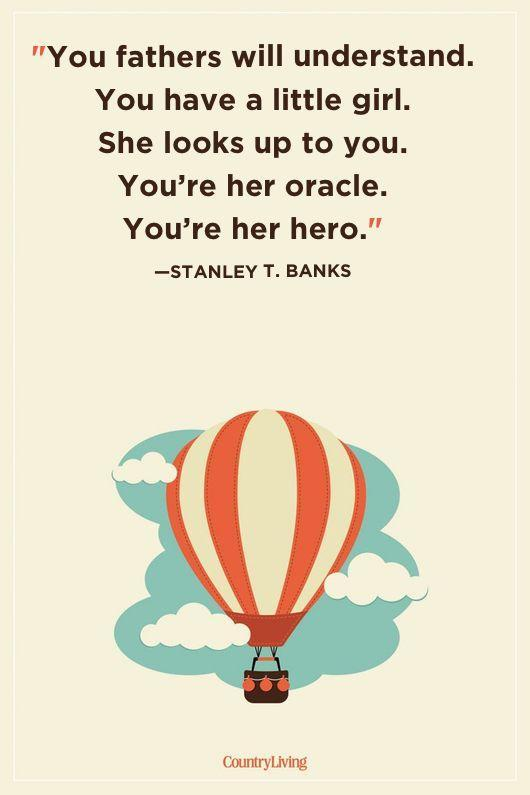"<p>""You fathers will understand. You have a little girl. She looks up to you. You're her oracle. You're her hero.""</p>"