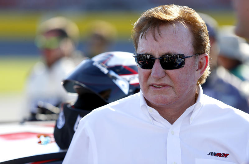 Richard Childress said he'd provide employees who demonstrate a bus ride once the anthem was over. (Icon Sportswire via Getty Images)
