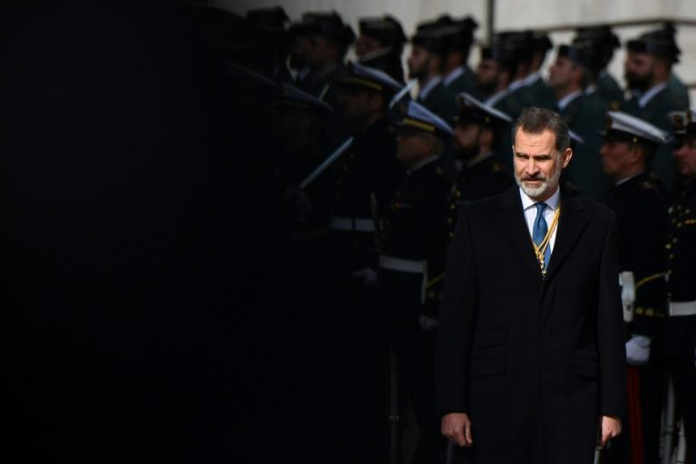 Spain's King Felipe VI tested negative for coronavirus but will still self-quarantine after coming into contact with an infected person