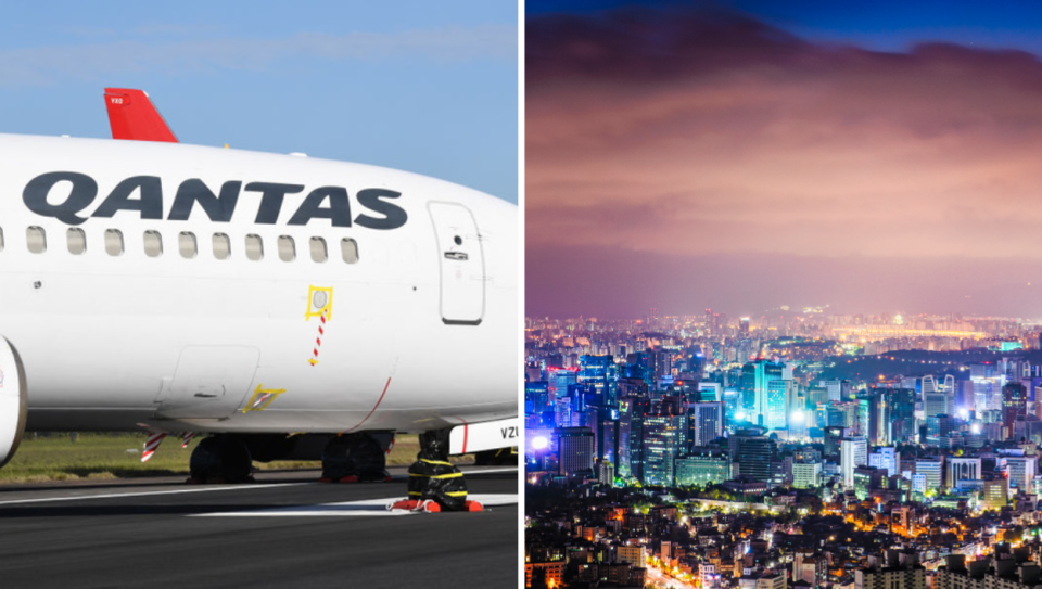 Qantas names two countries for travel bubble hopes. Source: Getty