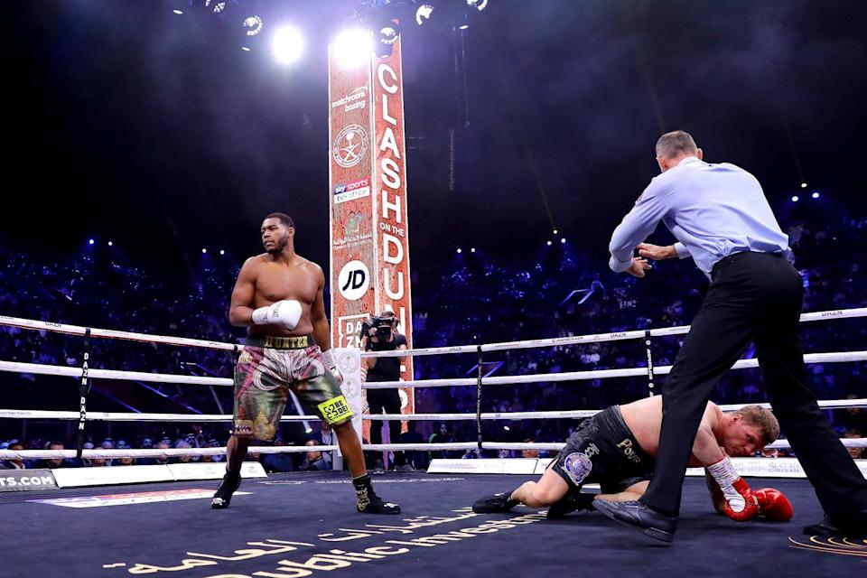 Hunter named on a shortlist of possible opponents to face Fury in December: Getty Images