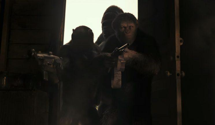 Caesar fights for apekind in War for the Planet of the Apes - Credit: 20th Century Fox