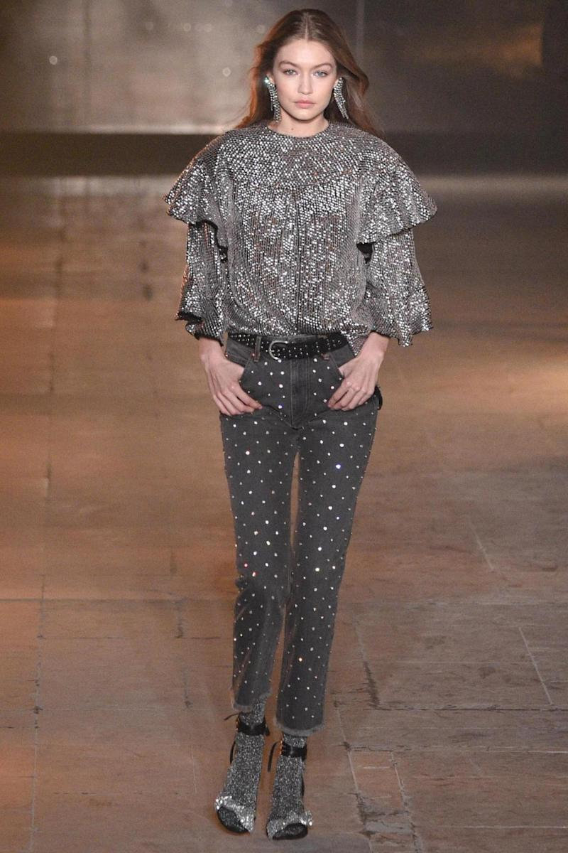 Isabel Marant at PFW (Getty Images)