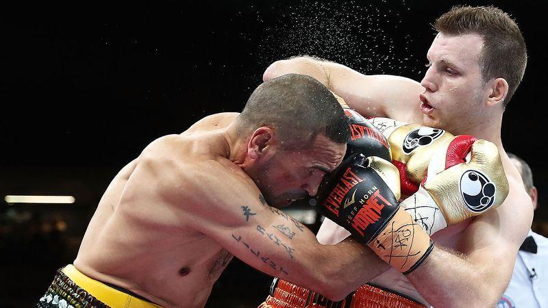 Horn destroyed Mundine when the pair fought in November. Pic: Getty