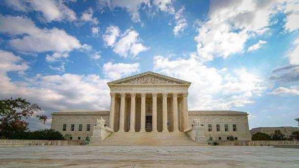 PHOTO: The United States Supreme Court Building in Washington D.C. is pictured in this undated stock photo. (STOCK PHOTO/Getty Images)