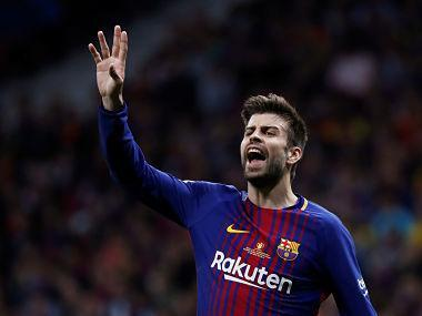 """Barcelona president Josep Maria Bartomeu has spoken to Pique and informed him that his role in making the video had """"generated surprise and discomfort within the club and among many of its supporters"""""""