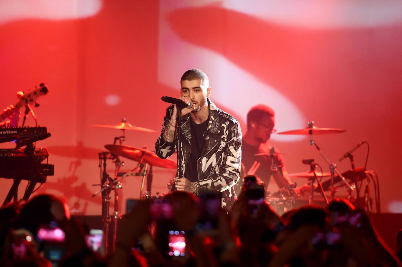 Zayn Malik opened up about his anxiety problems again. Pictured: Malik performs onstage at ZAYN Album Release Party On The Honda Stage at the iHeartRadio Theater on March 25, 2016 in New York City.