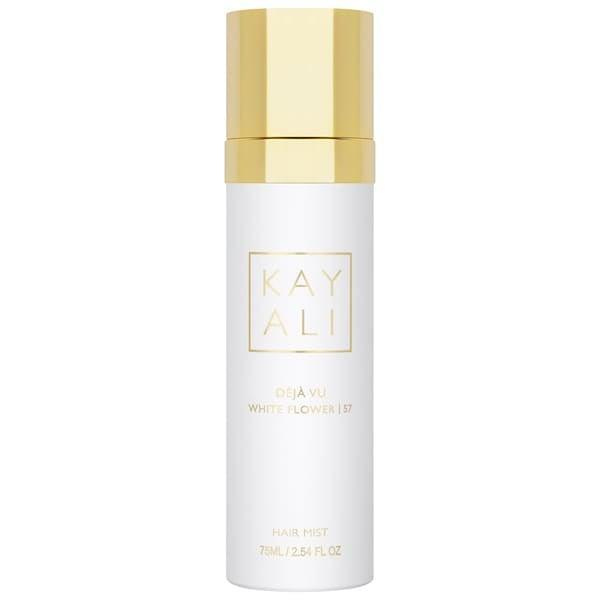 <p>With notes of gardenia, tuberose, and white nectarine to leave hair smelling good, this <span>Huda Beauty Kayali Déjà Vu White Flower Hair Mist</span> ($40) also has camelia and castor oils to help hair <em>feel</em> good, too. </p>