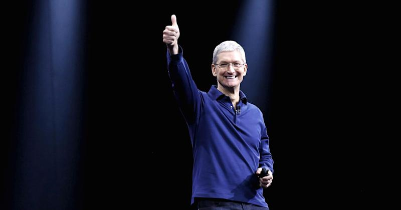 Tim Cook says Apple won't repatriate money to US 'until there's a fair rate'