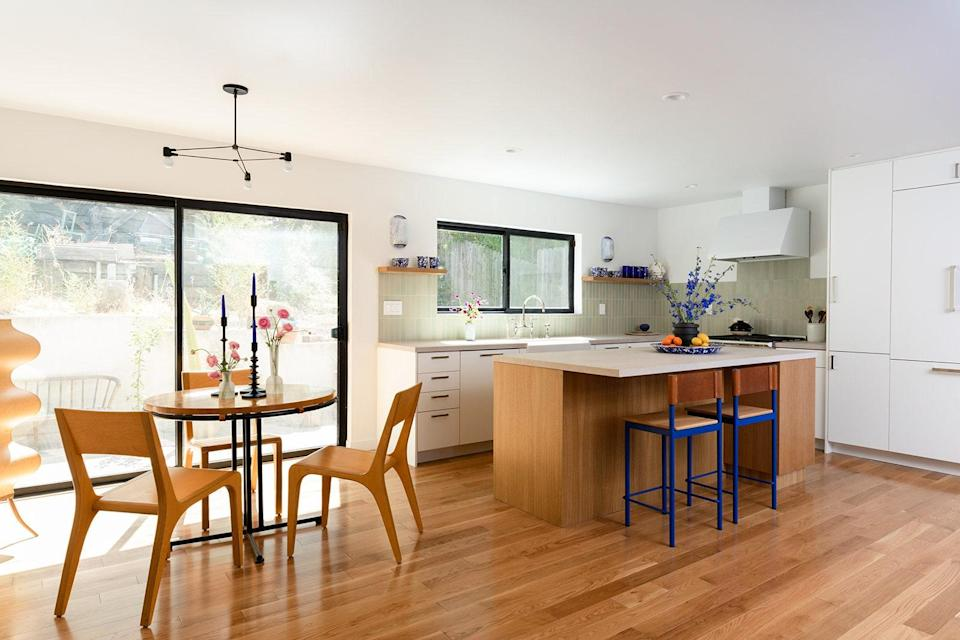 AFTER: This kitchen project was a referral from Leah's former employer, Frances Merrill of Reath Design fame.