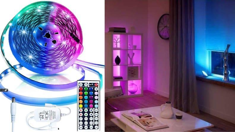 Think of it as a personal light show in your bedroom.