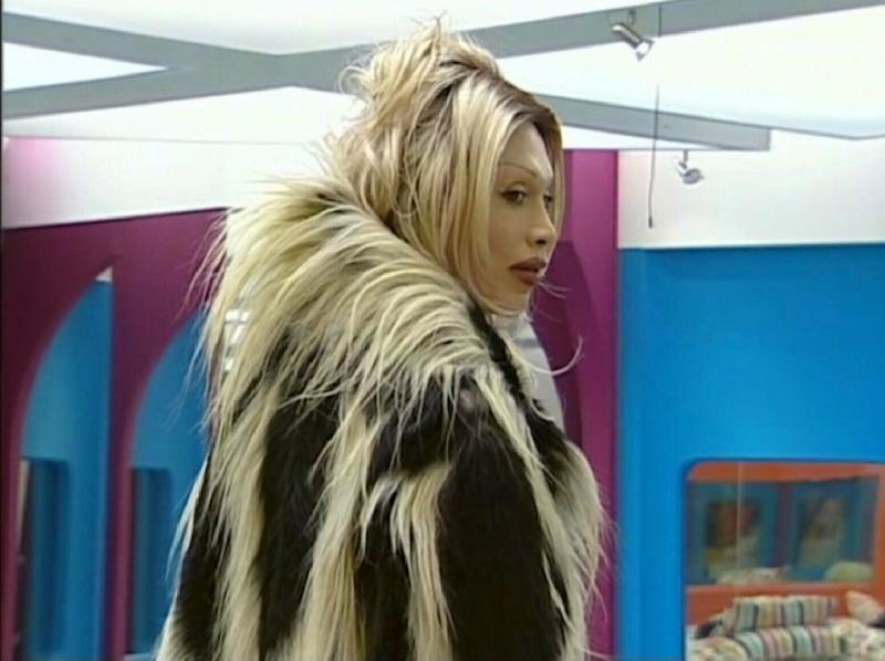 Pete Burns and the gorilla coat (Series 4 CBB)