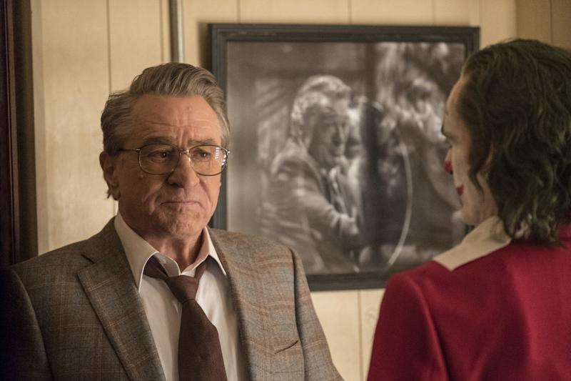 De Niro and Phoenix in Joker (Credit: Warner Bros)