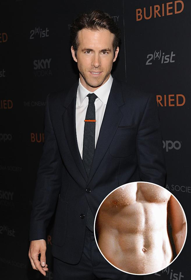 """Ryan Reynolds attends a special screening of """"Buried"""" hosted by The Cinema Society and 2(x)ist at the Tribeca Grand Hotel on September 16, 2010 in New York City.The Cinema Society & 2(x)ist Host A Screening Of """"Buried"""" - Inside ArrivalsTribeca Grand HotelNew York, NY United StatesSeptember 16, 2010Photo by Dimitrios Kambouris/WireImage.comTo license this image (61694389), contact WireImage.com"""