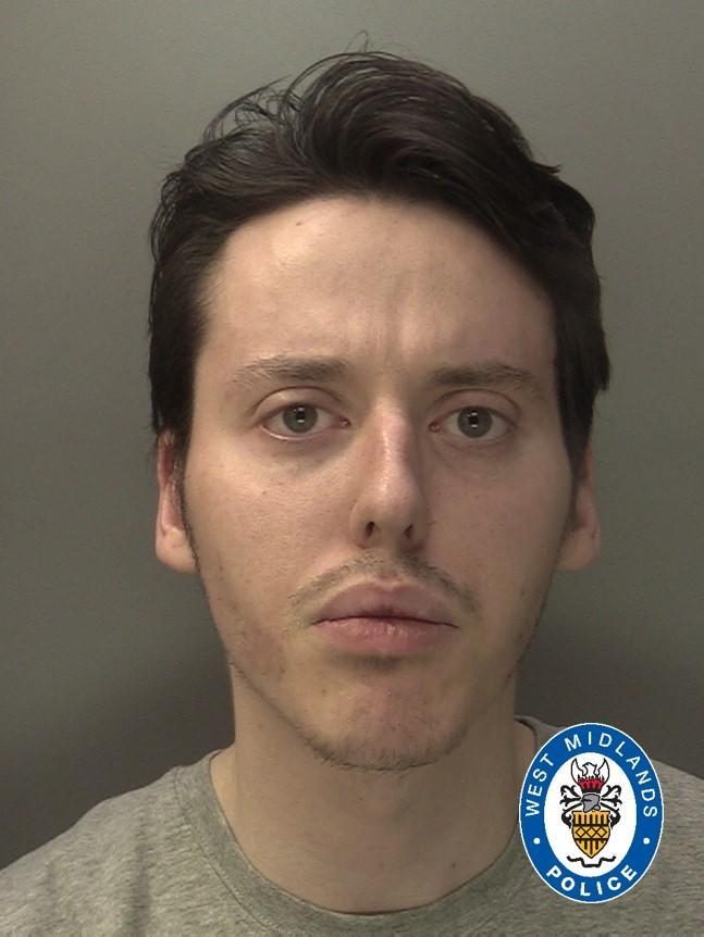 Rhys Reynolds was sentenced for 10 years (West Midlands Police)