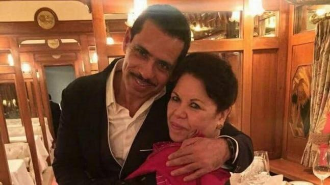 Maureen Vadra, the mother of Robert Vadra, has been summoned by the Enforcement Directorate (ED) for questioning.