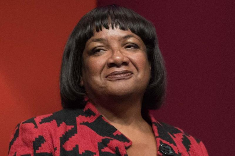 Diane Abbott said the speech is a 'party political broadcast' (PA)
