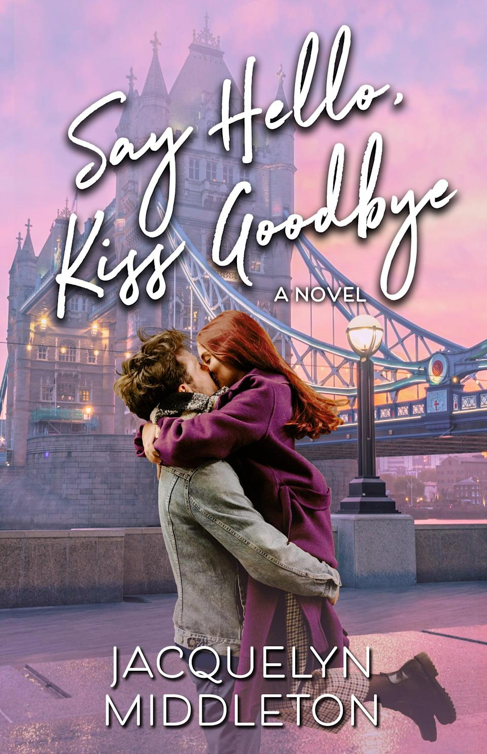 <p>Jacquelyn Middleton's <span><strong>Say Hello, Kiss Goodbye</strong></span> is a lovely story about never giving up on love. Recent divorcee Leia moves to London for a fresh start, which she imagines will include plenty of no strings attached flings. What she doesn't count on is her wealthy and handsome hookup Tarquin being ready for something serious, or his belief that they might just be perfect for each other. </p> <p><em>Out Nov. 26</em></p>