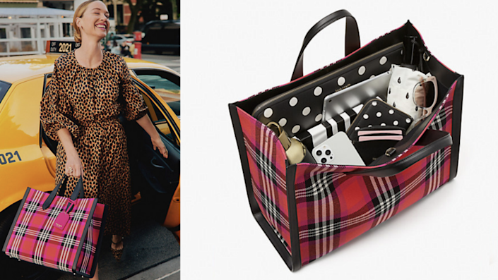 Celebrate the colors of fall with this tote.