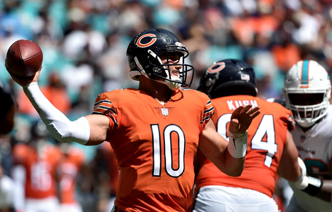 Fantasy beat: Trubisky a streaming option this week vs. Patriots?