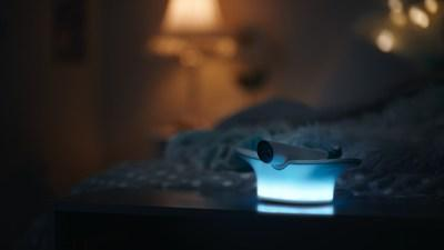 WestJet's Flight Light is an innovative nightlight that lets business travellers and frequent fliers share their travel journey with their children (CNW Group/WESTJET, an Alberta Partnership)
