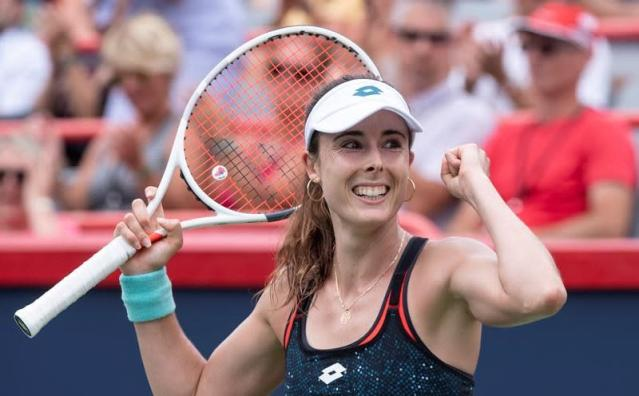 U.S. Open champ Stephens ousts Canada's Abanda at women's Rogers Cup