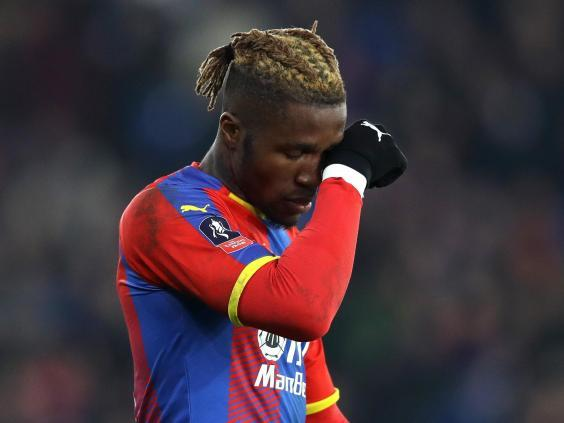 Crystal Palace have been reliant on Wilfried Zaha in attacking areas (Getty Images)