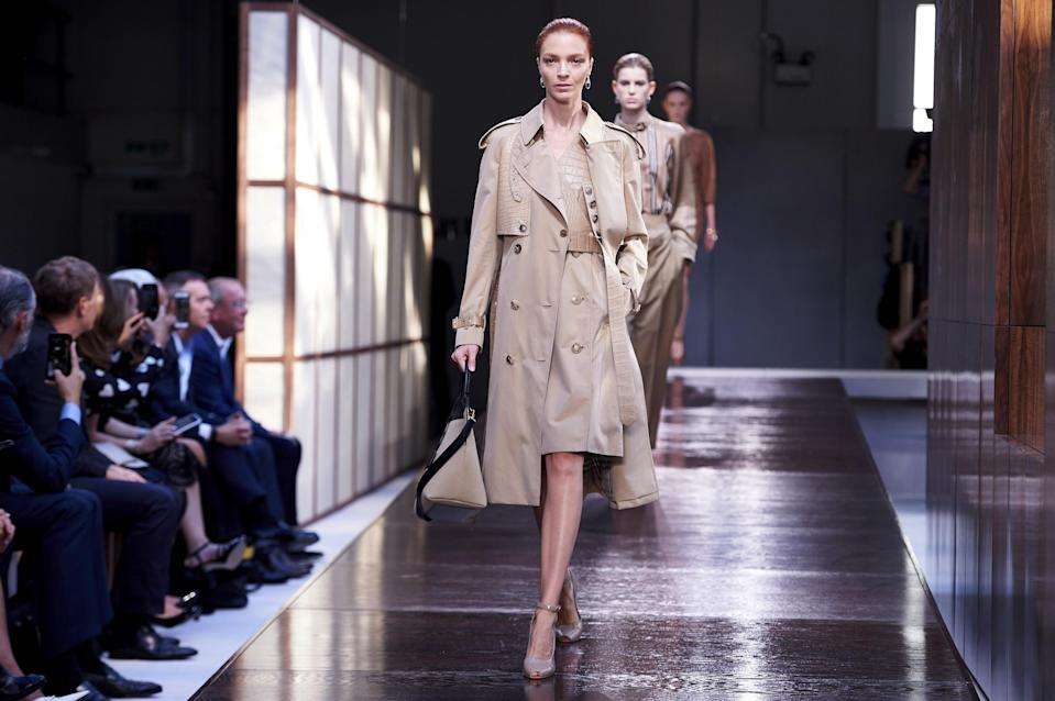 <p>Luxury retail Yoox Net-a-Porter sells goods from firms such as Burberry</p> (AFP/Getty Images)
