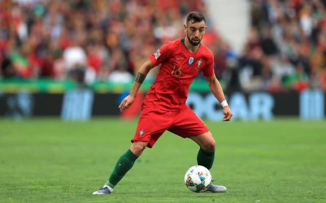 Manchester United have been linked with a big-money January move for Sporting Lisbon midfielder Bruno Fernandes (Mike Egerton/PA)