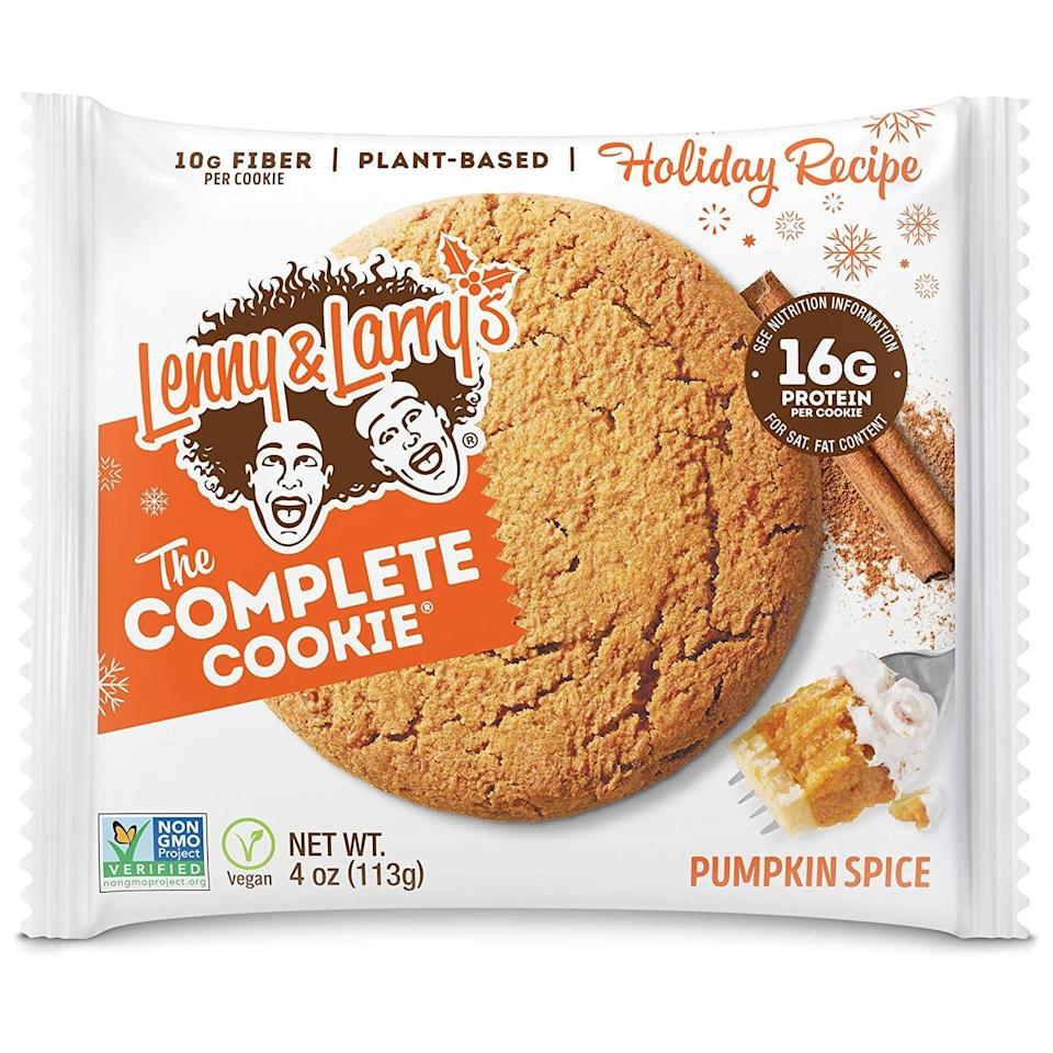<p>We're always fans of cookies, and this plant-based <span>Lenny &amp; Larry's The Complete Cookie, Pumpkin Spice</span> ($23 for 12), looks so yummy. It's a limited edition flavor, though, so grab it while you can!</p>